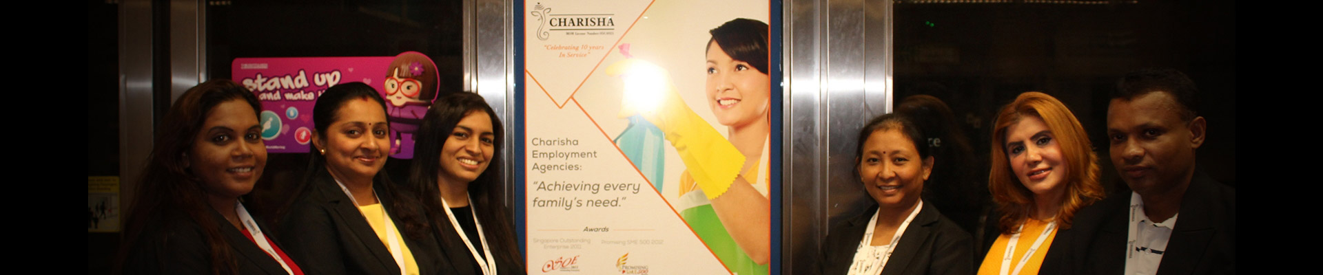 Charisha Featured In MRT Stations - About - Charisha
