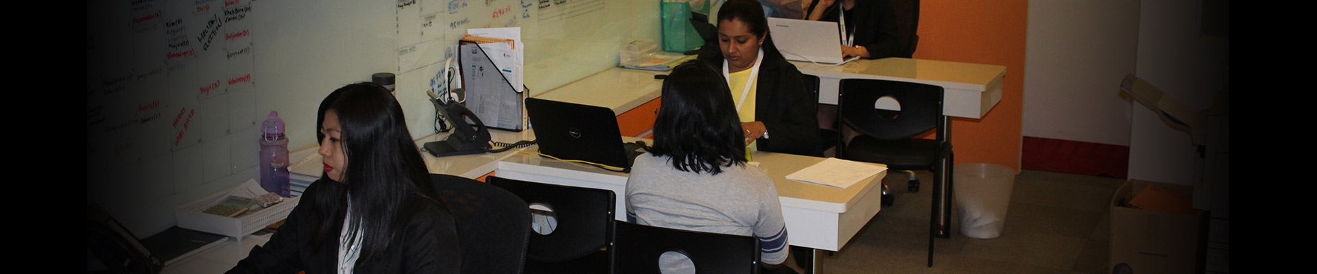 Charisha At Work With Clients - About - Charisha